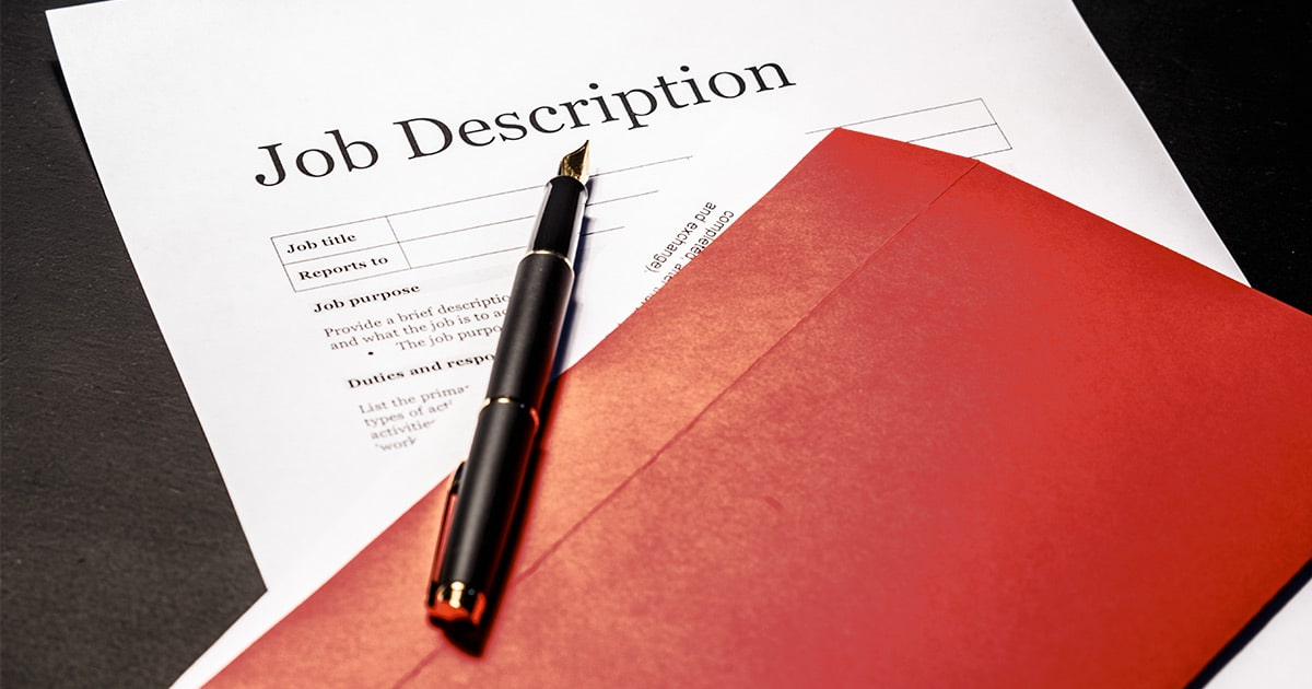 what to include in a job description